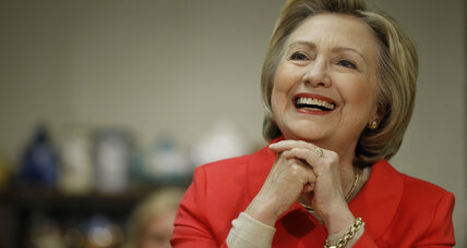 Hillary Clinton says half of her cabinet will be female