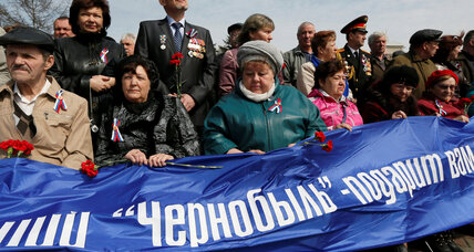 30 years after Chernobyl disaster, Ukraine honors 600,000 'liquidators'
