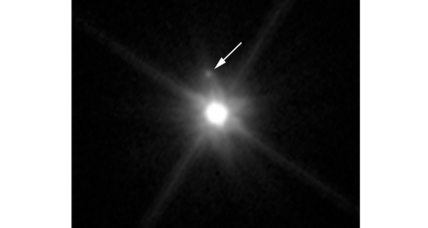 Hubble spots a tiny moon orbiting Pluto's little sister, Makemake