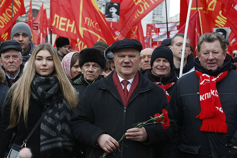 In Russia, young Communists see moment to vie for power ...