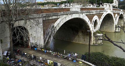 From the Tiber to the Ganges, volunteers gather to clean waterways