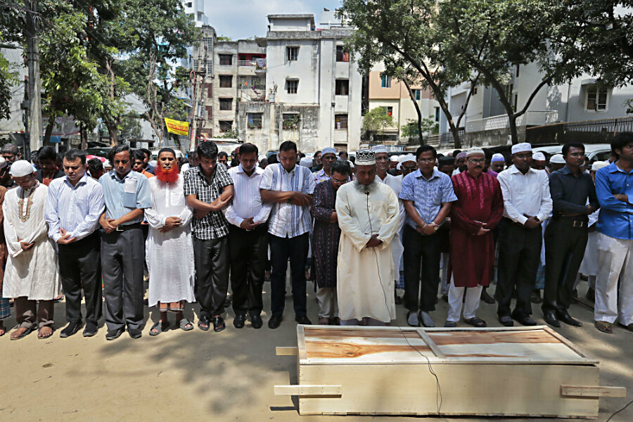 Bangladesh terror attacks target culture of tolerance - CSMonitor com