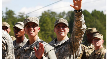 First woman enters infantry as Army moves women into combat roles