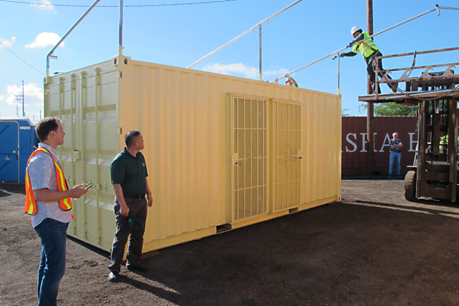 Shipping containers make headway as housing options (yes, with windows)