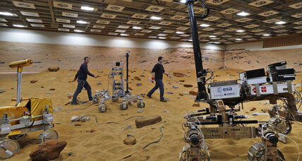 Tim Peake's next challenge: Driving a rover from space