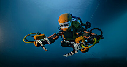 A new 'robo-mermaid' can hunt for deep-sea treasure with a delicate touch