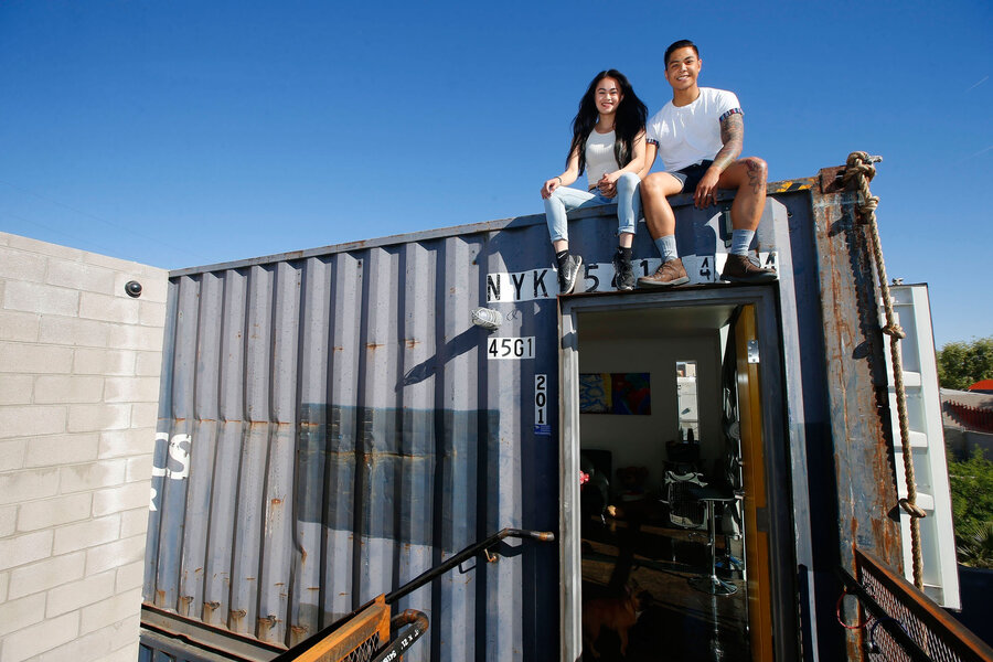 Could shipping container homes offer a solution for urban - Pictures of container homes ...