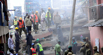 Why are buildings in Kenya collapsing?