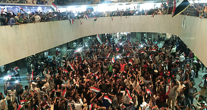 Pro-Sadr protestors breach Baghdad's fortified Green Zone (+video)