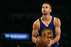 Stephen Curry the virtuous superstar CSMonitorcom