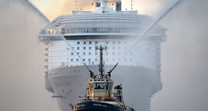 Cruise ships start to come under scrutiny as massive pollution machines