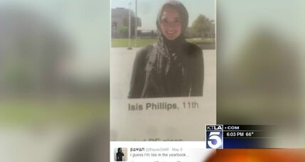 Muslim student feels 'vulnerable' after being misidentified as 'Isis' in yearbook