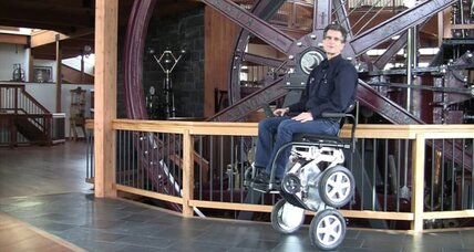 Toyota gives stair-climbing iBot wheelchair an extra boost