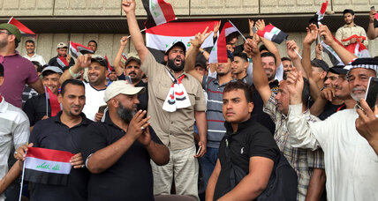 Iraqi protesters end Green Zone sit-in for now after issuing demands
