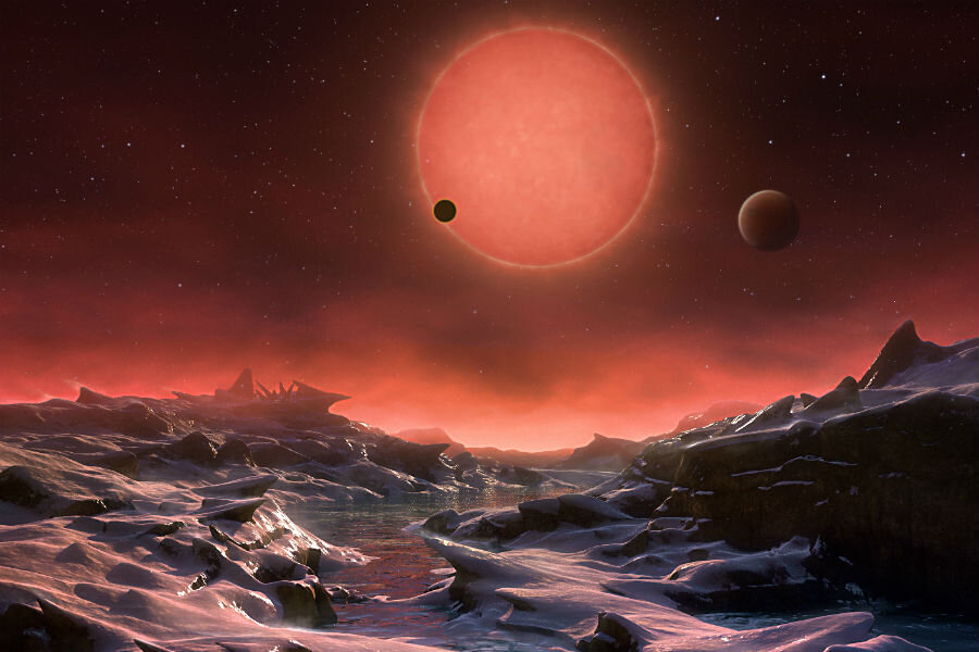 Could these three Earth-like exoplanets be capable of sustaining life? -  CSMonitor.com