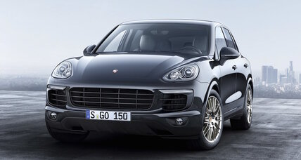 2017 Porsche Cayenne gets Platinum special edition trim