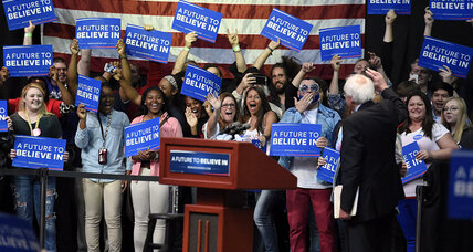 Should Bernie Sanders leave the race? New poll points to 'stay'