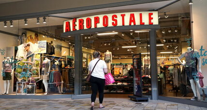 Aeropostale bankruptcy: Another victim of 'fast fashion'? (+video)