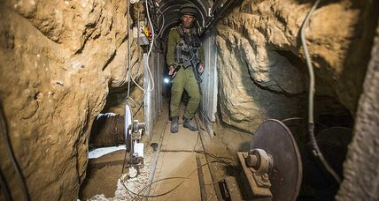 Israeli military identifies new militant tunnel, second since 2014 war