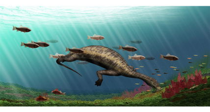 Ancient 'hammerhead' reptile had this weird way of eating plants