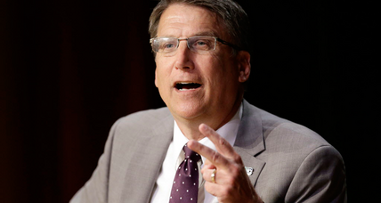 North Carolina Gov. McCrory says bathroom bill is now a national issue