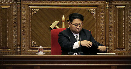 N. Korean leader bestows new title on himself. BBC journalists get the boot