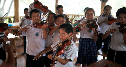 Youth orchestra provides an oasis from San Salvador's gangs