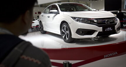 2016 Honda Civic road test