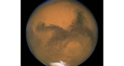 Oxygen in Martian atmosphere? Yes, but don't get too excited yet.