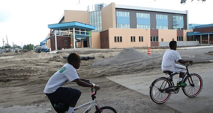 New Orleans seeks post-Katrina 'healing' with new school plan