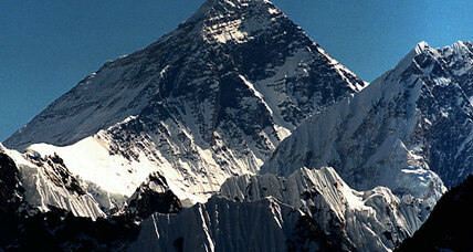 World's highest graffiti: China watches Mount Everest for vandals