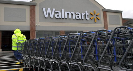 Why is Wal-Mart suing Visa?