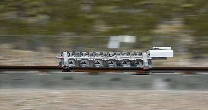 Hyperloop 1 shows off super-speed propulsion technology