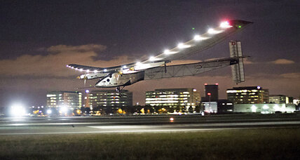 Solar Impulse 2 takes off for Oklahoma