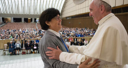 Can women become deacons? Pope Francis says maybe.