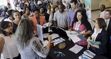 Jobless claims hit highest level in a year. What's going on? (+video)
