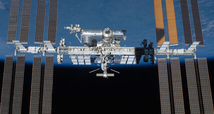 Space debris danger: Fast-moving paint flake dings window of space station
