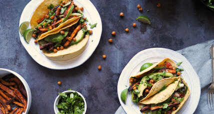 Craving a taco? Here's a veggie version with all the right stuff
