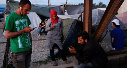 For refugees in Greece, lots of rumors but little reliable news