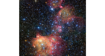Sublime image reveals superbubbles, star formation, and satellite galaxies