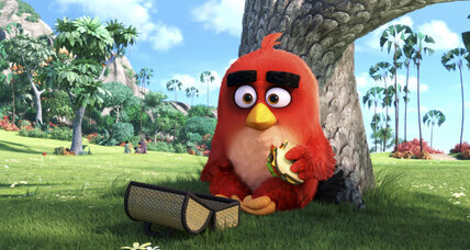 'Angry Birds' is fun and heartfelt at times