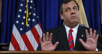 Christie as Trump's vice president? New Jersey voters say, 'no, thanks' (+video)