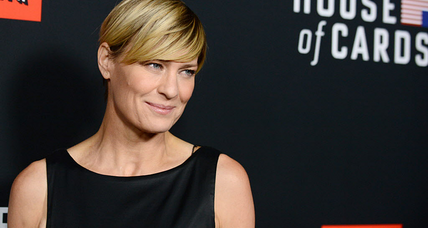 'House of Cards' Robin Wright summons Claire Underwood: equal pay, or else