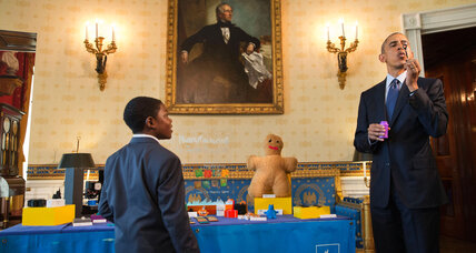 Why Obama wants 'Kid Science Advisors'