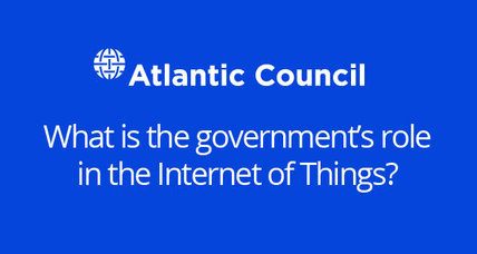 Event: What is the government's role in the Internet of Things?