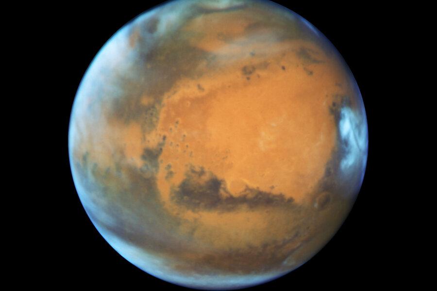 Amazing Mars portrait: How did Hubble get that detail?