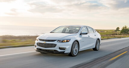 2016 Chevrolet Malibu road test