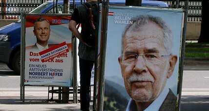 Far right concedes after narrow defeat in Austrian presidential election