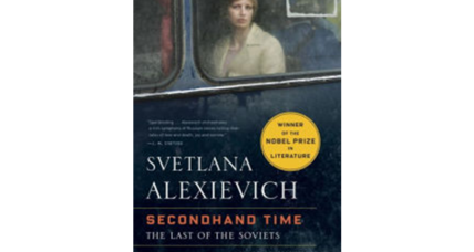 'Secondhand Time' records previously unheard witnesses to Soviet life