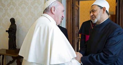 'The meeting is the message,' Pope Francis says of talks with grand imam